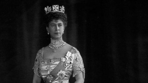 PHOTO: Queen Mary was born in Kensington Palace and married Prince George in 1893, to become Queen Mary in 1910, pictured here circa 1912. (Hulton Archive/Getty Images)