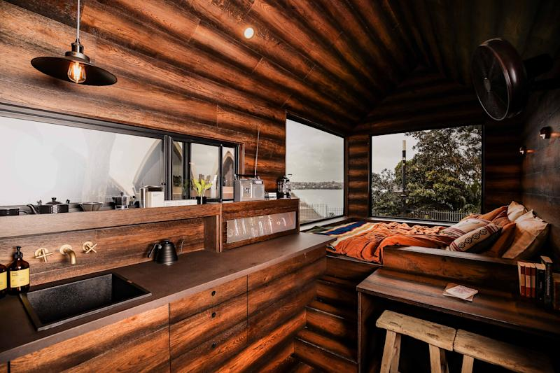 Matthew McConaughey launched a eco-friendly cabin in Australia. (Photo by Brendon Thorne/Getty Images for Wild Turkey)