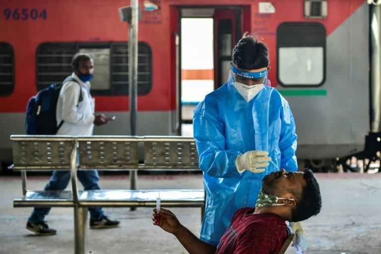 India is facing a dramatic upsurge in cases and its trying to battle it using tests and vaccines rather than a full national lockdown