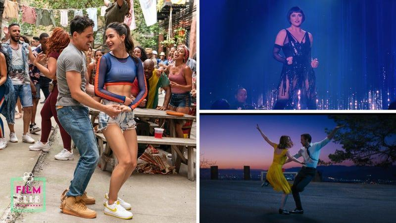 Clockwise from left: In The Heights (Photo: Macall Polay / Warner Bros. Pictures); Chicago (Screenshot: Miramax); La La Land (Screenshot: Lionsgate)