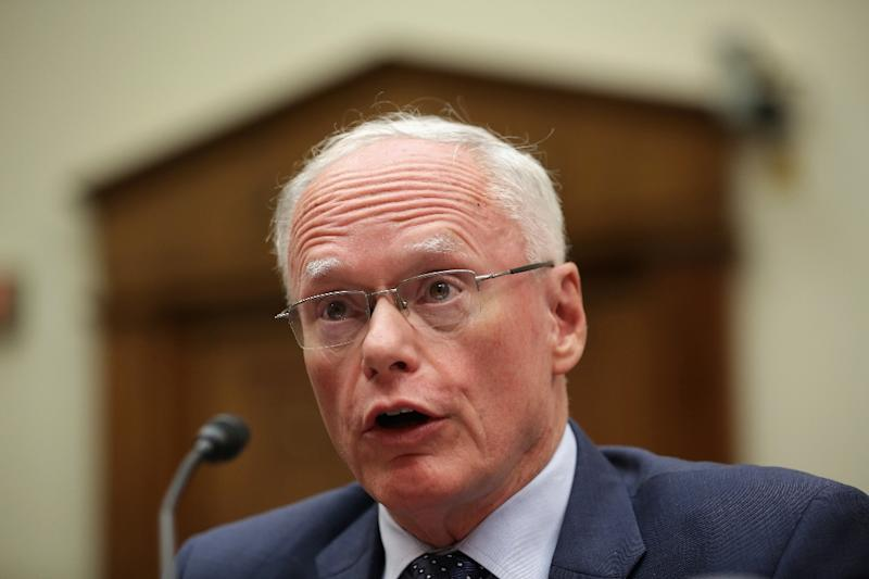 James Jeffrey, pictured in 2014, will serve as American envoy to the international coalition against the Islamic State jihadist group