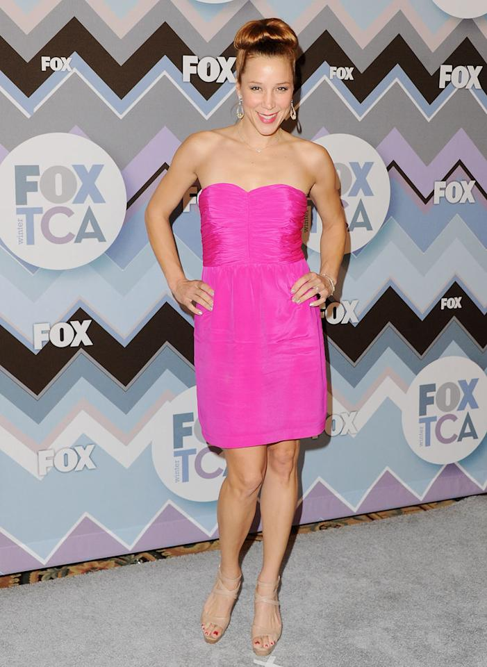 Becky Baeling arrives at the 2013 Winter TCA FOX All-Star Party at The Langham Huntington Hotel and Spa on January 8, 2013 in Pasadena, California.