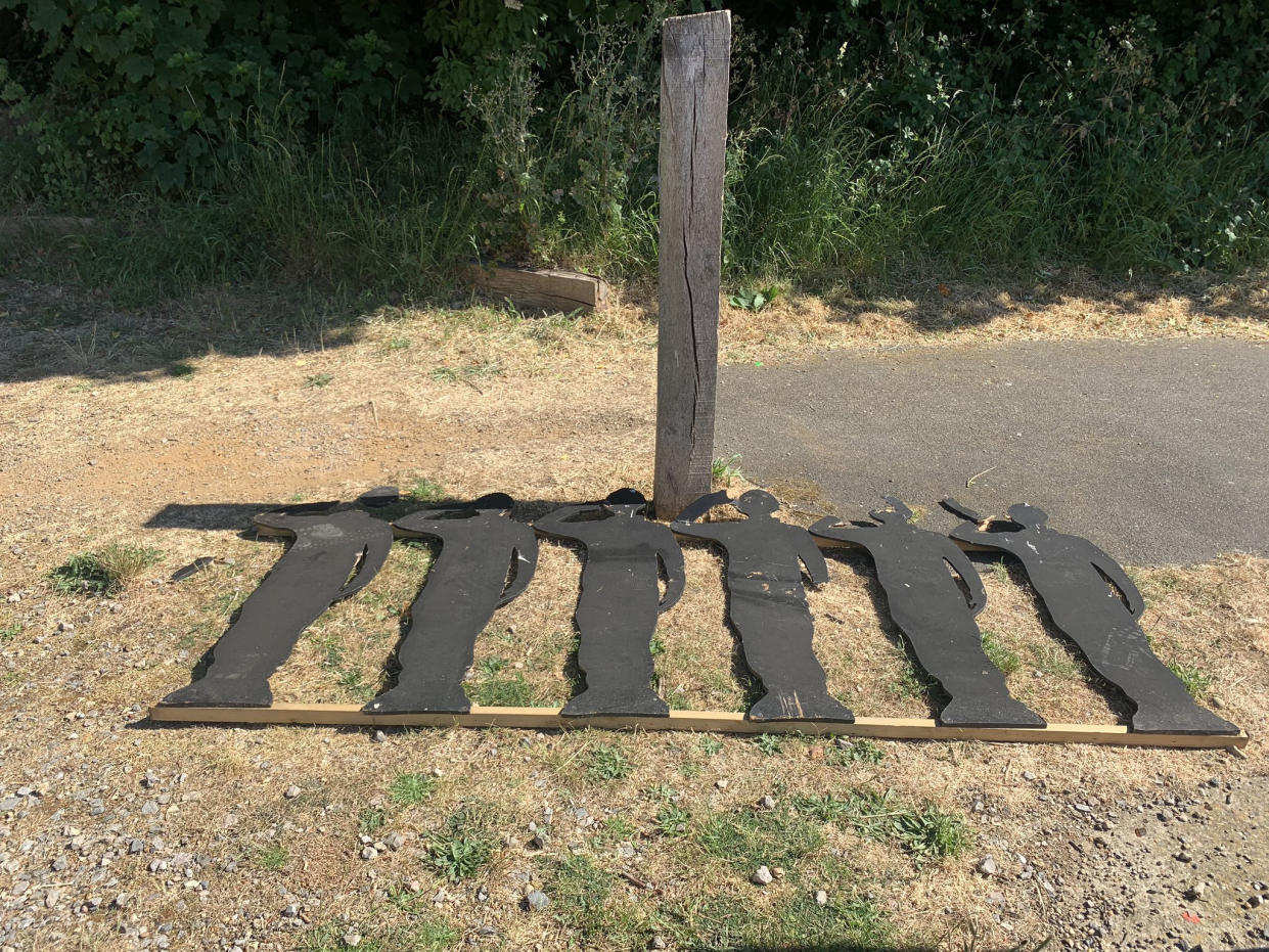 Police branded the vandalism 'despicable'. (Picture: PA/Cllr Qaisar Abbas)