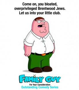 "EMMYS: 'Family Guy' Calls Academy Voters ""Overprivileged Brentwood Jews"" In Mailer"