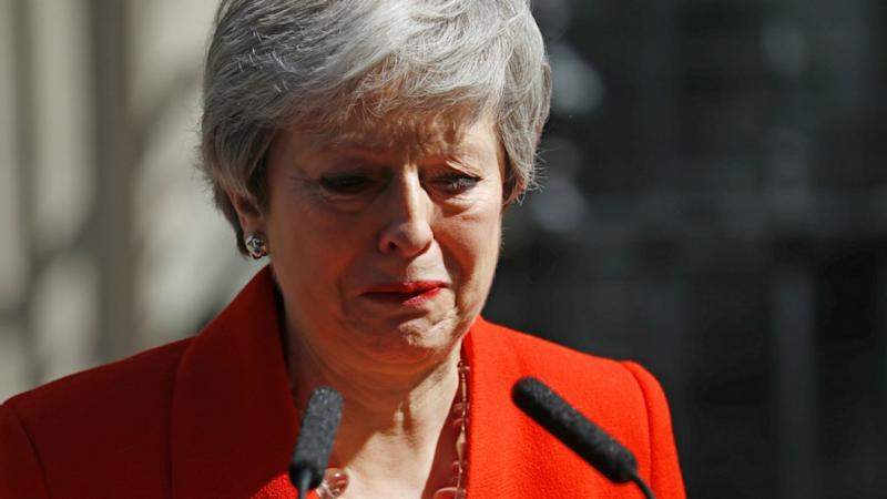 Theresa May announces resignation, sparking leadership race