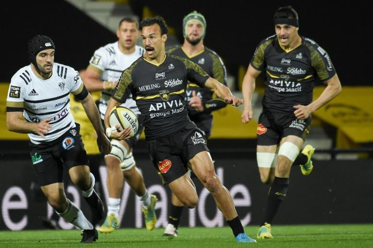 Dillyn Leyds has scored four tries in 13 games since joining La Rochelle at the start of the season