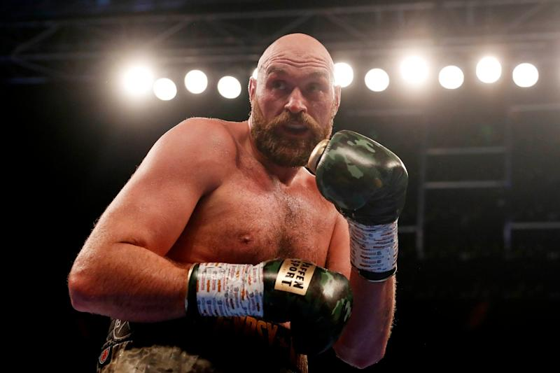 Points win: Fury beat Pianeta on points in Belfast: Action Images via Reuters