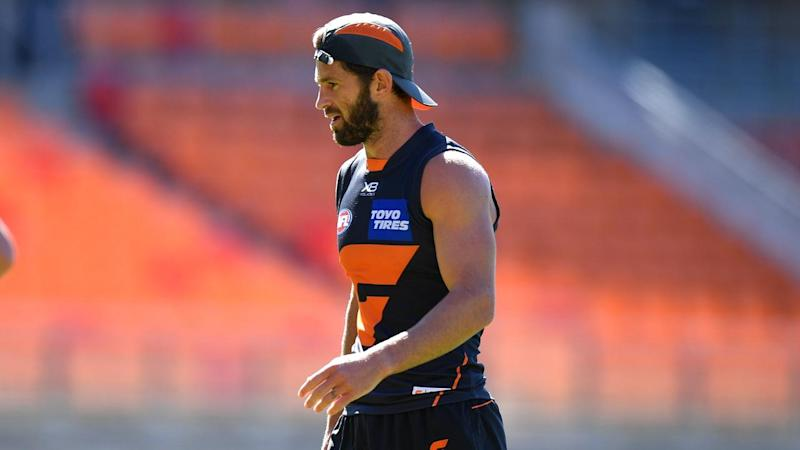 Callan Ward is poised to make a long-awaited return from injury for GWS against North Melbourne