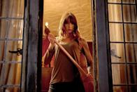 <p>When Erin (Sharni Vinson) joins her boyfriend's family for a weekend at their country home, the house is attacked by a gang wearing animal masks, who seem intent on killing everyone … except that Erin is surprisingly good at fighting back. Over a brisk 90 minutes, secrets are revealed, irony is laid on thick, and characters die in some awfully creative ways, one of which involves a kitchen appliance. (Available on Amazon, Google Play, iTunes, YouTube, and Vudu.) — <em>G.W. </em>(Photo: Lionsgate/courtesy Everett Collection) </p>