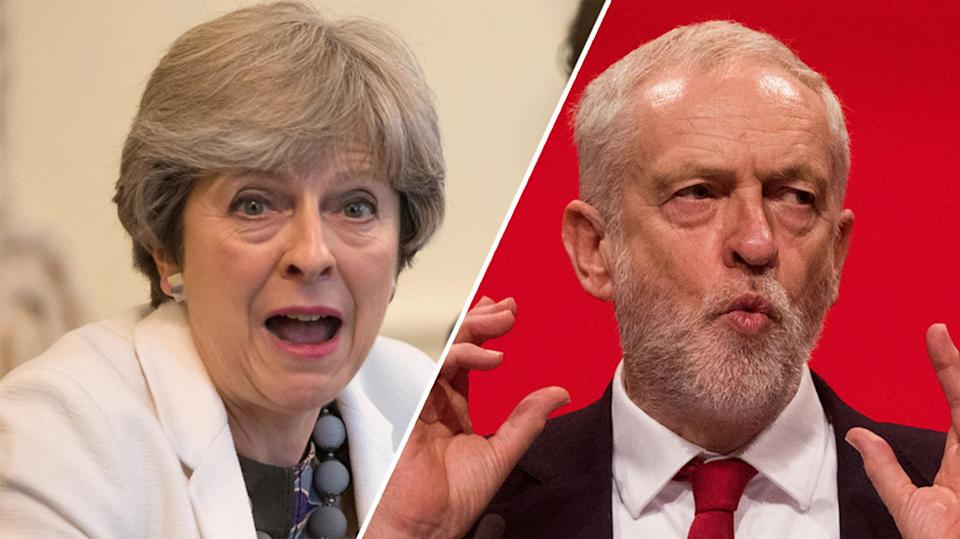 Theresa May and Jeremy Corbyn are currently less popular than 'don't know'