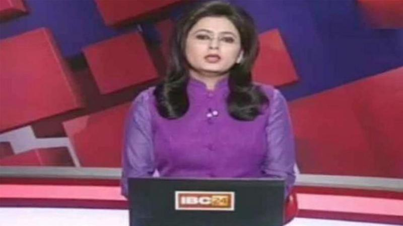 India news anchor learns of husband's death while reporting live on TV