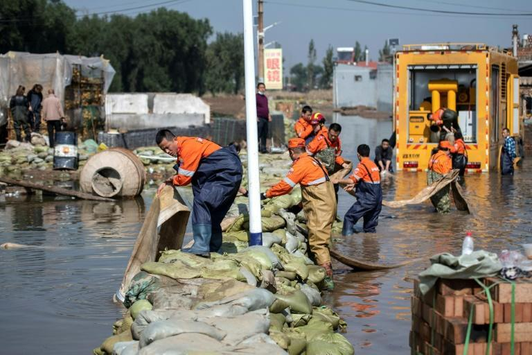 At least 1.75 million residents across Shanxi province have been affected, with 120,000 evacuated, according to officials (AFP/-)