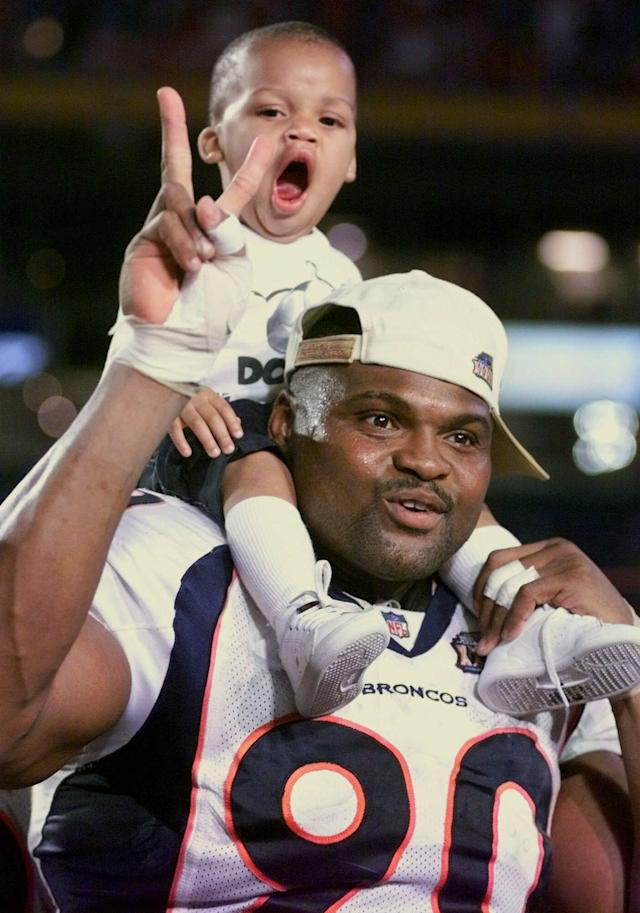 Neil Smith, two-time Super Bowl champion with the Broncos, was a hero on Tuesday. (AP)