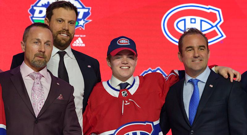 After a reddit user did some investigative work into a recent video posted by the Montreal Canadiens, the team's Twitter account provided a humorous response to his findings. (Photo by Derek Cain/Icon Sportswire via Getty Images)