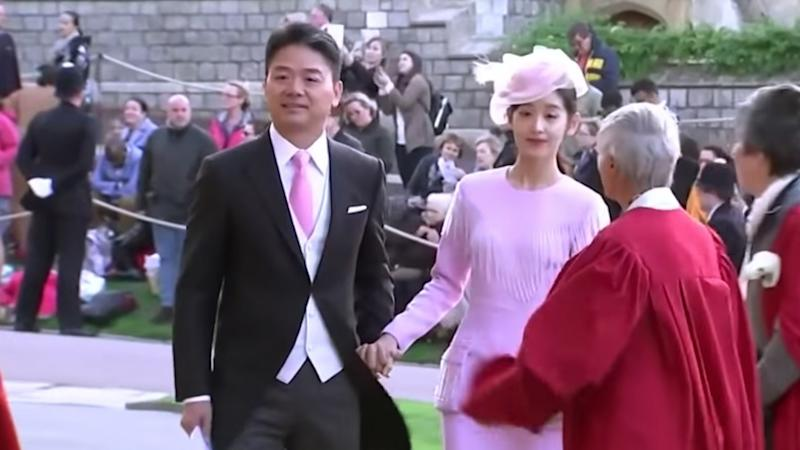 JD.com founder Liu and wife attend Princess Eugenie's wedding amid US rape case