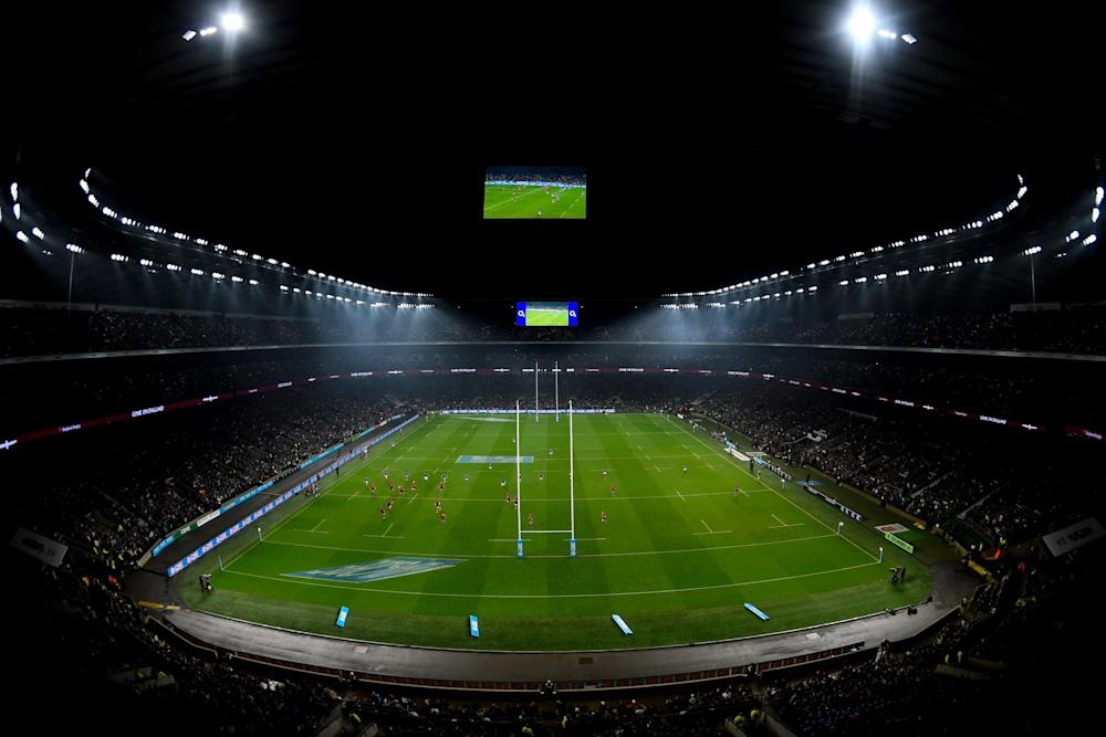 England host Twickenham on November 25: Getty Images
