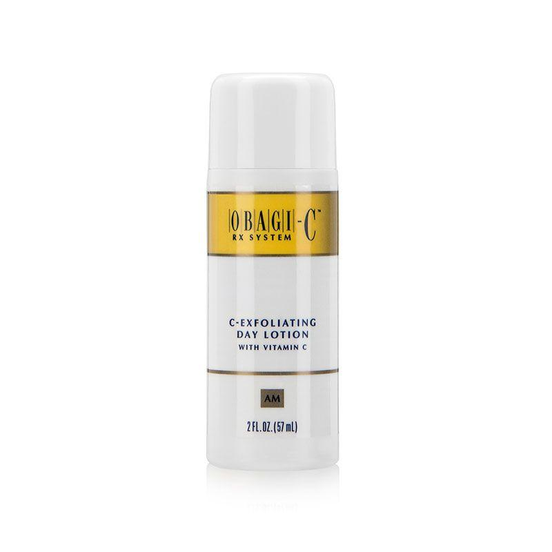 "<p><a rel=""nofollow"" href=""https://www.skinstation.co.uk/obagi-crx-system-c-exfoliating-day-lotion-57ml"">Shop now</a> <br></p><p>""I like the Obagi exfoliating day lotion, it contains glycolic acid, hyaluronic acid and camomile. Glycolic acid to unblock the pores, hyaluronic acid to prevent your skin from getting too dry and camomile is great for inflamed skin such as acne."" </p><p><strong>- Dr Sarah Tonks, <a rel=""nofollow"" href=""http://www.thelovelyclinic.co.uk/"">Aesthetic Doctor</a>.</strong></p>"