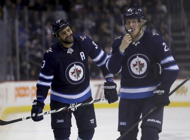 The Jets have proven themselves to be Stanley Cup contenders this season. (Trevor Hagan/The Canadian Press via AP)