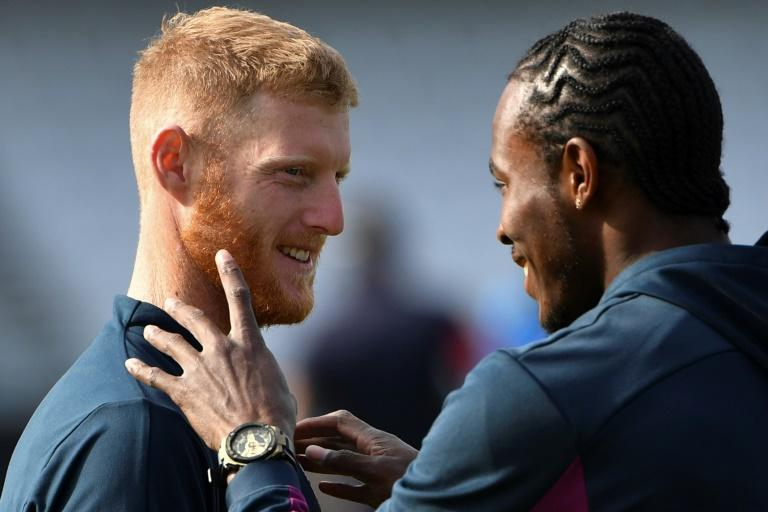 England's Ben Stokes (left) and Jofra Archer