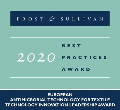 2020 European Antimicrobial Technology for Textile Technology Innovation Leadership Award