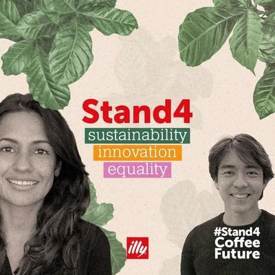 ILLYCAFF & # xc8;  CELEBRATE INTERNATIONAL COFFEE DAY WITH THE # STAND4COFFEEFUTURE CAMPAIGN TO GIVE A VOICE TO FUTURE GENERATIONS TO BUILD A BETTER FUTURE FOR COFFEE