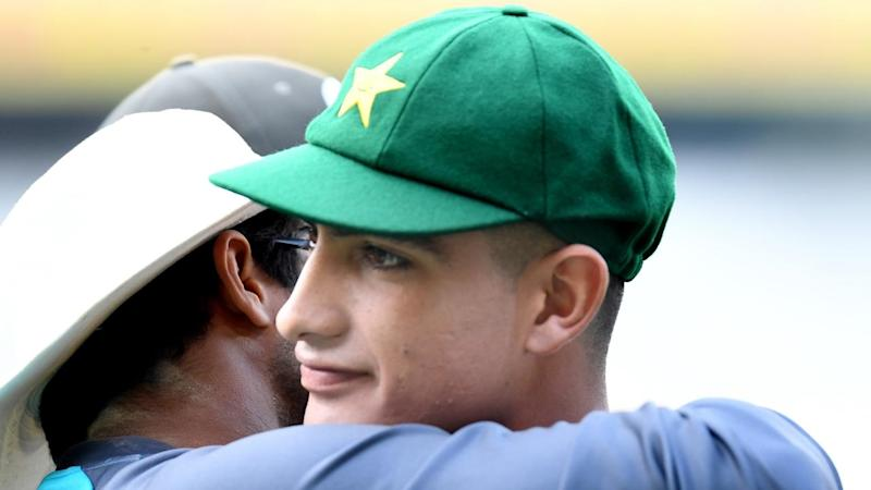 Pakistan teenager Naseem Shah finished wicketless during his introduction to Test cricket