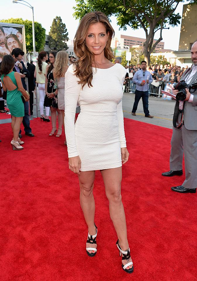 "WESTWOOD, CA - JUNE 03:  Actress Charisma Carpenter attends Columbia Pictures' ""This Is The End"" premiere at Regency Village Theatre on June 3, 2013 in Westwood, California.  (Photo by Alberto E. Rodriguez/Getty Images)"