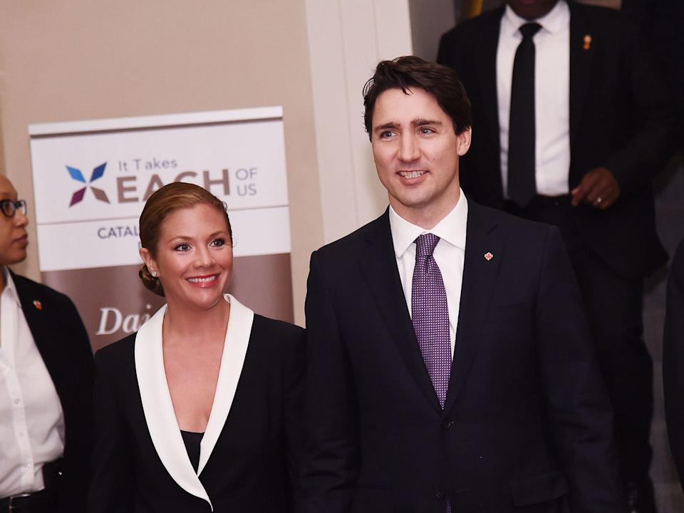 Sophie Grégoire Trudeau, the wife of Canadian Prime Minister Justin Trudeau, tested positive for the coronavirus on Thursday.