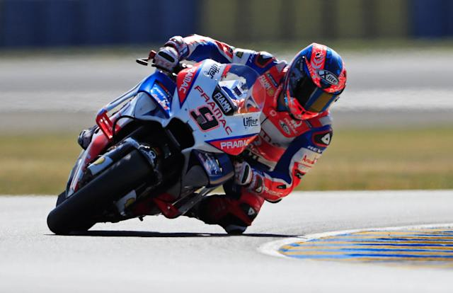 Motorcycling - MotoGP - French Grand Prix - Bugatti Circuit, Le Mans, France - May 19, 2018 Ducati's Danilo Petrucci during practice REUTERS/Gonzalo Fuentes