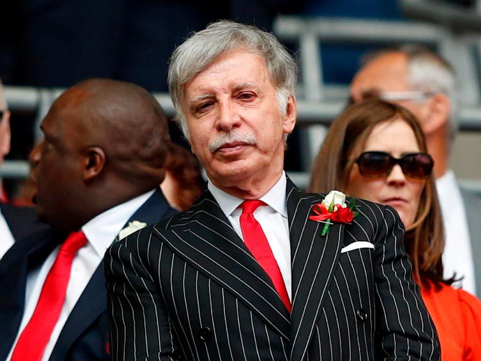Stan Kroenke has seized full control of Arsenal Football Club: AFP/Getty Images