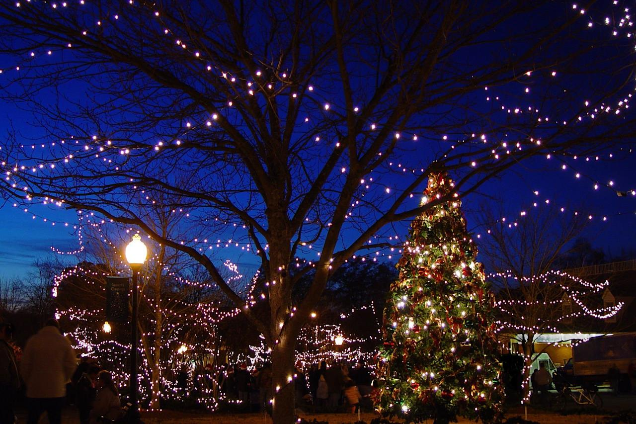 """<p>Andalusia is Alabama's quintessential <a href=""""http://www.southernliving.com/christmas/andalusia-alabama-christmas-town"""" target=""""_blank"""">small town Christmas</a> destination. Each December, you can find snow in this South Alabama town thanks to the <a href=""""http://www.christmasincandyland.com/"""" target=""""_blank"""">Christmas in Candyland</a> celebration, a free event that brings games, ice skating, train rides, kids activities, and a faux-snow tubing hill to the downtown area.</p> <p><a href=""""https://www.southernliving.com/christmas/andalusia-alabama-christmas-town""""><em>Read more about Christmas in Andalusia, AL</em></a></p>"""
