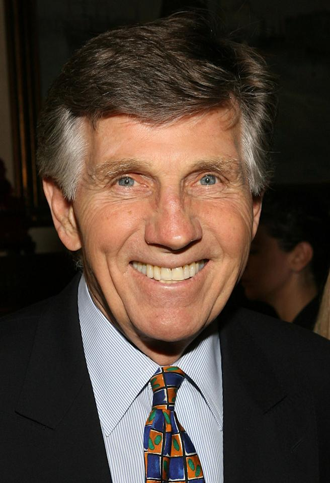 LOS ANGELES, CA - OCTOBER 17:  Gary Collins attends the wedding of Michael Feinstein and Terrence Flannery held at a private residence on October 17, 2008 in Los Angeles, California.  (Photo by Jesse Grant/WireImage)