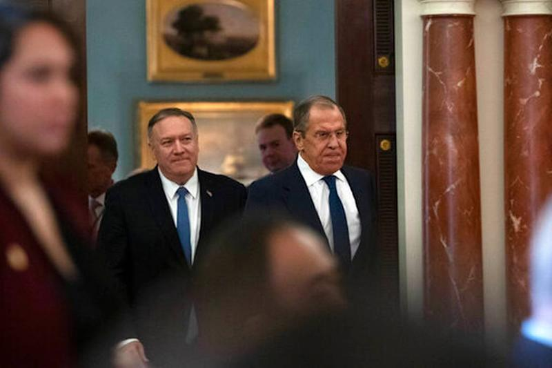 yahoo.com - Pompeo is being sued for records of Trump's meetings with Putin. A judge will hear the case.