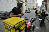 The arrival of mobile internet in Cuba a mere two years ago has enabled the creation of businesses such as Mandao, an app-based home delivery company