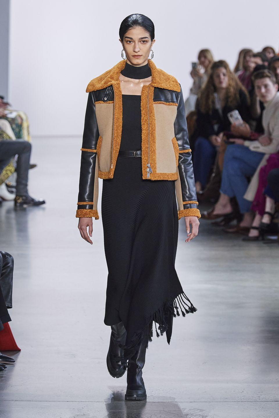 <p>Your outwear will have some texture and contrast thanks to this cozy-looking trend. </p><p><em>Jonathan Simkhai</em></p>
