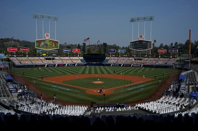 Dodgers to host drive-in viewing parties during NLCS