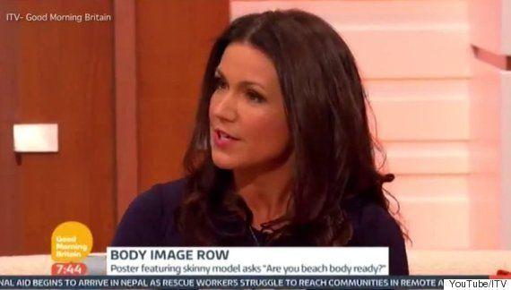 "Yes, Susanna is comfortable having a little flirt with David Beckham when needs must, but <a href=""http://www.huffingtonpost.co.uk/2015/04/28/susanna-reid-protein-world-good-morning-britain_n_7160840.html?utm_hp_ref=good-morning-britain"">can we also acknowledge that she's also a trained, professional journalist</a>? Get yourself a presenter that can do both.&nbsp;"