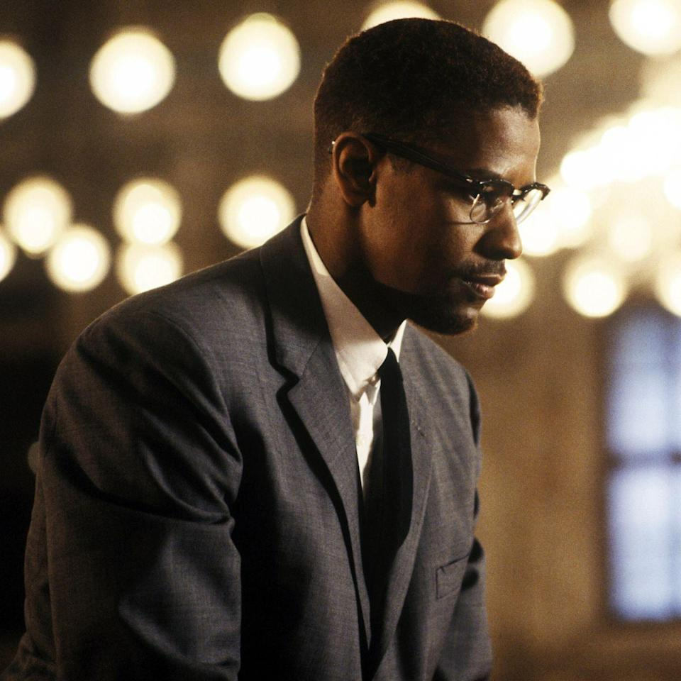 """<p>When the film isn't bolstered by Terence Blanchard's orchestral feat of a score or titular actor Denzel Washington's tour-de-force performance, helmer Spike Lee is treating us to an outstanding compilation of period R&B hits (Junior Walker's """"<a href=""""https://www.youtube.com/watch?v=LWrSQ14pL8U"""" rel=""""nofollow noopener"""" target=""""_blank"""" data-ylk=""""slk:Shotgun"""" class=""""link rapid-noclick-resp"""">Shotgun</a>""""), old soul classics (Sam Cooke's """"<a href=""""https://www.youtube.com/watch?v=wEBlaMOmKV4"""" rel=""""nofollow noopener"""" target=""""_blank"""" data-ylk=""""slk:A Change Is Gonna Come"""" class=""""link rapid-noclick-resp"""">A Change Is Gonna Come</a>""""), and jazzy pop gems (Billie Holiday's """"<a href=""""https://www.youtube.com/watch?v=XtmwoRM3FPs"""" rel=""""nofollow noopener"""" target=""""_blank"""" data-ylk=""""slk:Big Stuff"""" class=""""link rapid-noclick-resp"""">Big Stuff</a>""""). And just as all Lee's movies are more than just films, they're Spike Lee Joints; this album is more than a bunch of really great songs, it's a moving sonic experience. </p><p><a class=""""link rapid-noclick-resp"""" href=""""https://www.amazon.com/Malcolm-X-Denzel-Washington/dp/B000QFQE4U?tag=syn-yahoo-20&ascsubtag=%5Bartid%7C10056.g.32872244%5Bsrc%7Cyahoo-us"""" rel=""""nofollow noopener"""" target=""""_blank"""" data-ylk=""""slk:Watch and Listen"""">Watch and Listen</a></p>"""