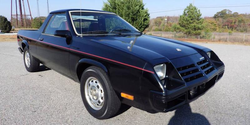 there 39 s an ultra clean 1982 dodge rampage for sale in georgia. Black Bedroom Furniture Sets. Home Design Ideas