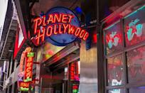"<p>If you're looking for a fun meal out in L.A., New York City, Las Vegas or Orlando, <a href=""https://locations.planethollywoodintl.com/"" rel=""nofollow noopener"" target=""_blank"" data-ylk=""slk:Planet Hollywood"" class=""link rapid-noclick-resp"">Planet Hollywood</a> will be open for business. Again, hours vary between location, so call ahead and make sure the chain is open. </p>"