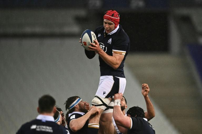 Line-out king - Scotland lock Grant Gilchrist