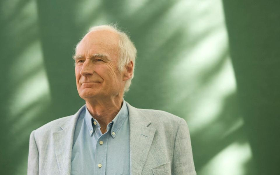 British broadcaster Peter Snow, pictured at the Edinburgh International Book Festival where he talked about his work. The book festival is the world's largest literary event and features writers from around the world. - Colin McPherson