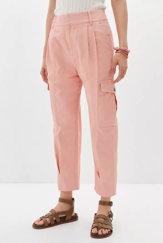 Tapered Utility Pants. Image via Anthropologie.