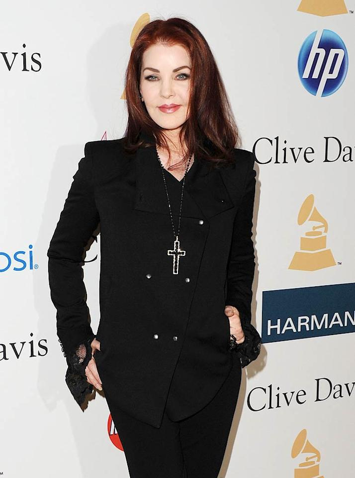 """Priscilla Presley turns 66 Jason Merritt/<a href=""""http://www.gettyimages.com/"""" target=""""new"""">GettyImages.com</a> - February 12, 2011"""