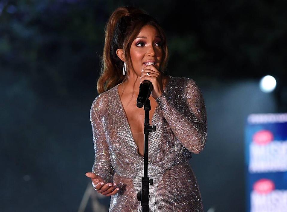 Mickey Guyton, 2020 CMT Awards, Show