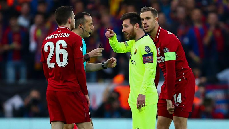 Robertson does not want Messi 'anywhere near the Premier League'