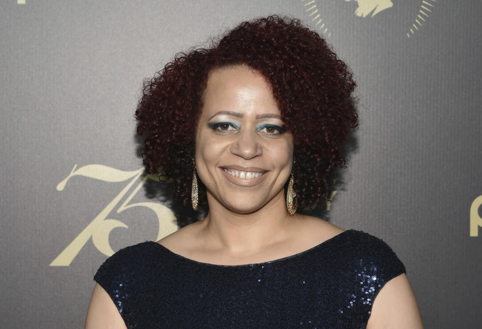 FILE - In this May 21, 2016, file photo, Nikole Hannah-Jones attends the 75th Annual Peabody Awards Ceremony at Cipriani Wall Street in New York. Long-standing grievances over the treatment of Black students, faculty and staff at the University of North Carolina at Chapel Hill have re-emerged in light of the controversy over investigative journalist Nikole Hannah-Jones. The Carolina Black Caucus recently wrote that faculty members are looking to leave over current conditions. (Photo by Evan Agostini/Invision/AP, File)
