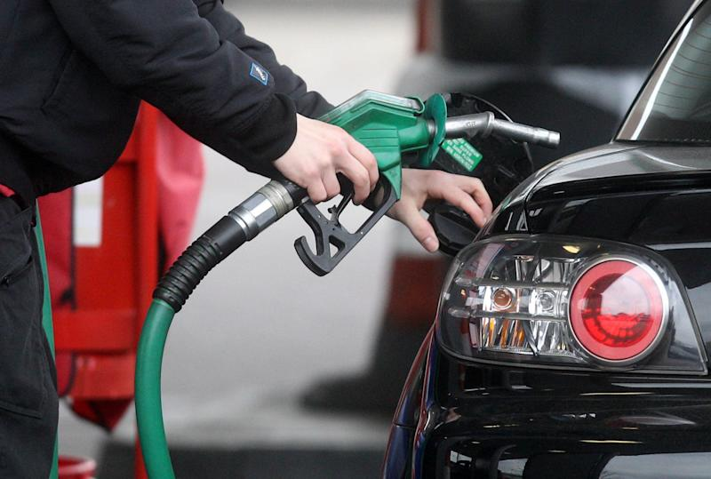 Boris Johnson and Chancellor Rishi Sunak have been warned by Tory MPs - including more than a dozen newly-elected members - against raising fuel duty. (PA)