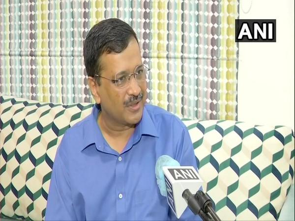Delhi Chief Minister Arvind Kejriwal in conversation with ANI. (Photo/ANI)