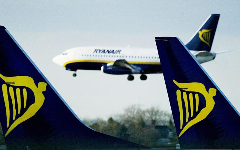 Ryanair suffered from strike action last year, too - 2003 Getty Images